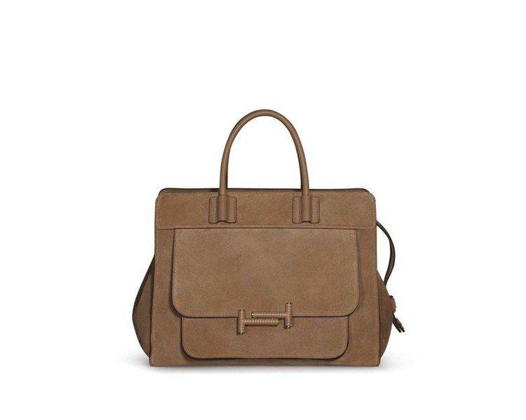 全新拉鍊式Double T Bag,91,700元。圖/TOD'S提供