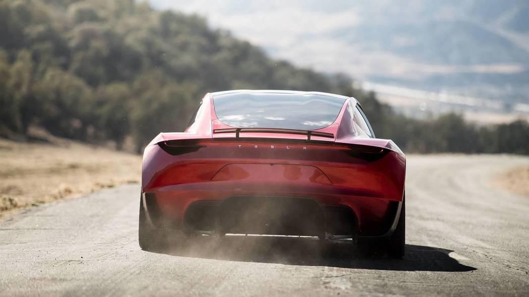 全新Tesla Roadster。 摘自Tesla
