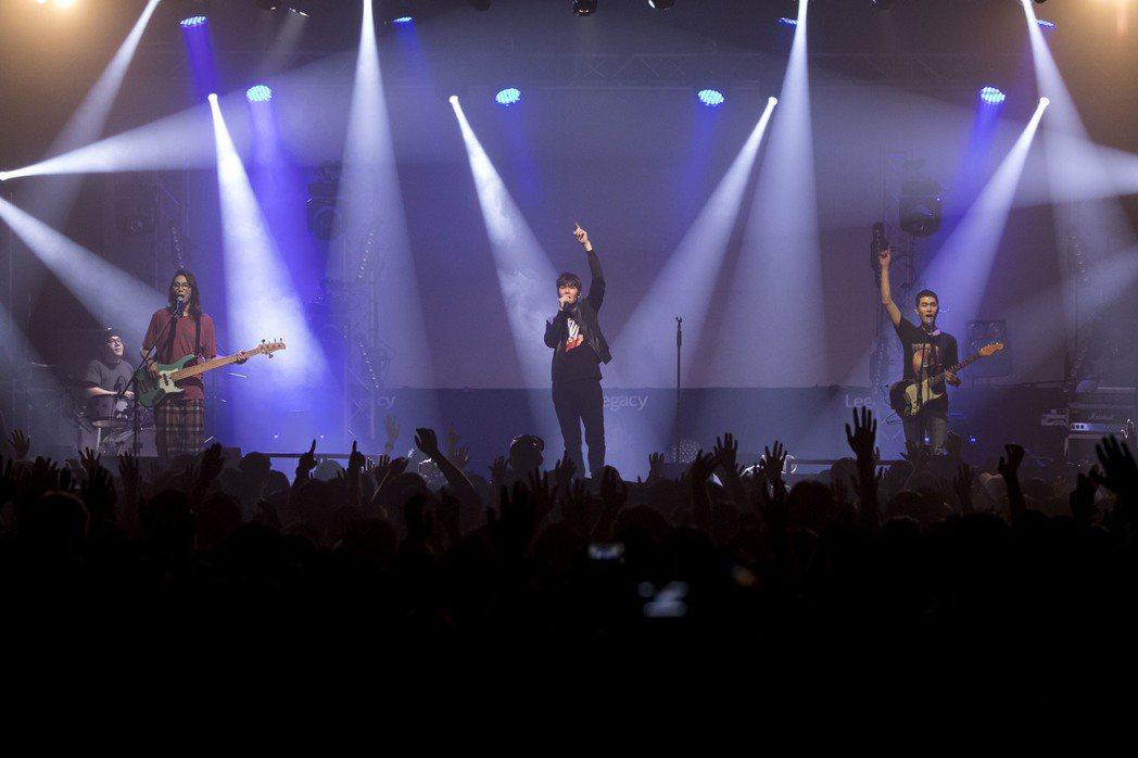 宇宙人17日起一連兩天在Legacy開唱。圖/相信音樂提供