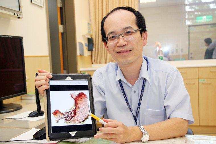 中國醫藥大學血液腫瘤科醫師白禮源