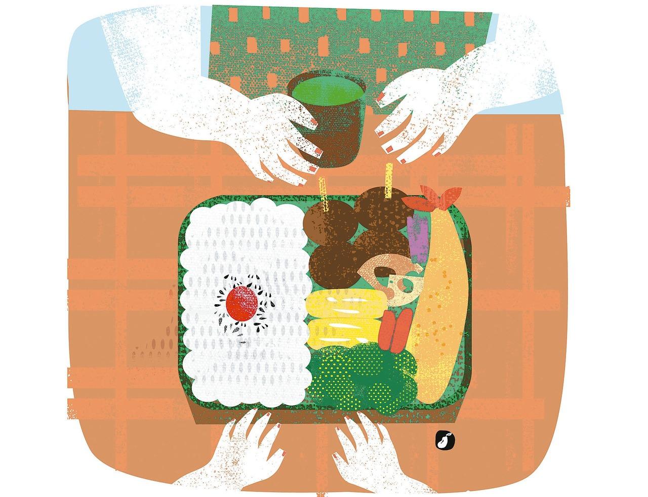 爸爸的便當是世界第一:用料理傳遞親情。 圖/豆寶
