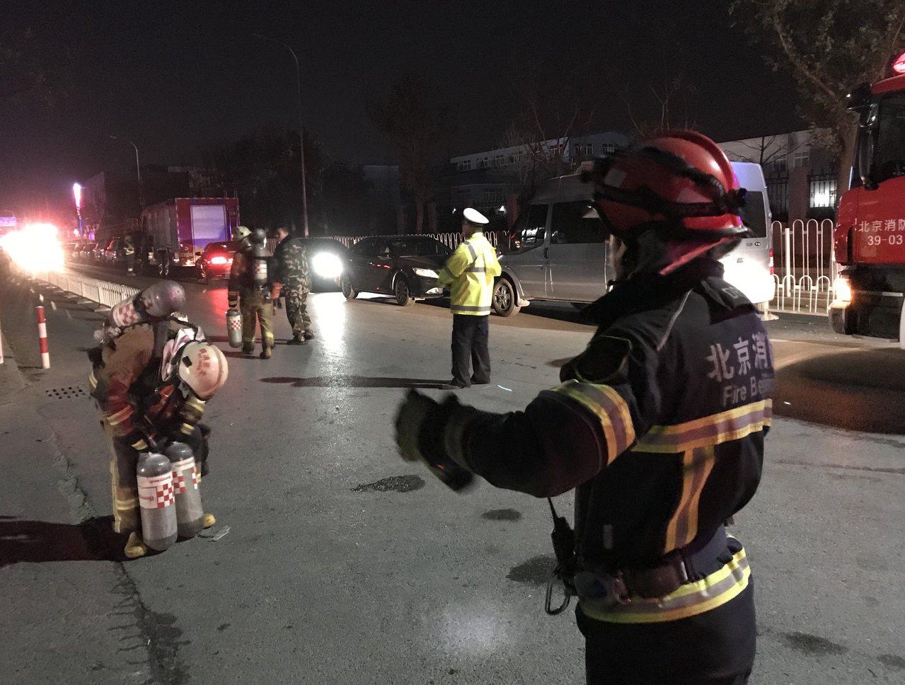 北京大興區西紅門鎮新建村火災19死8傷。 新華社