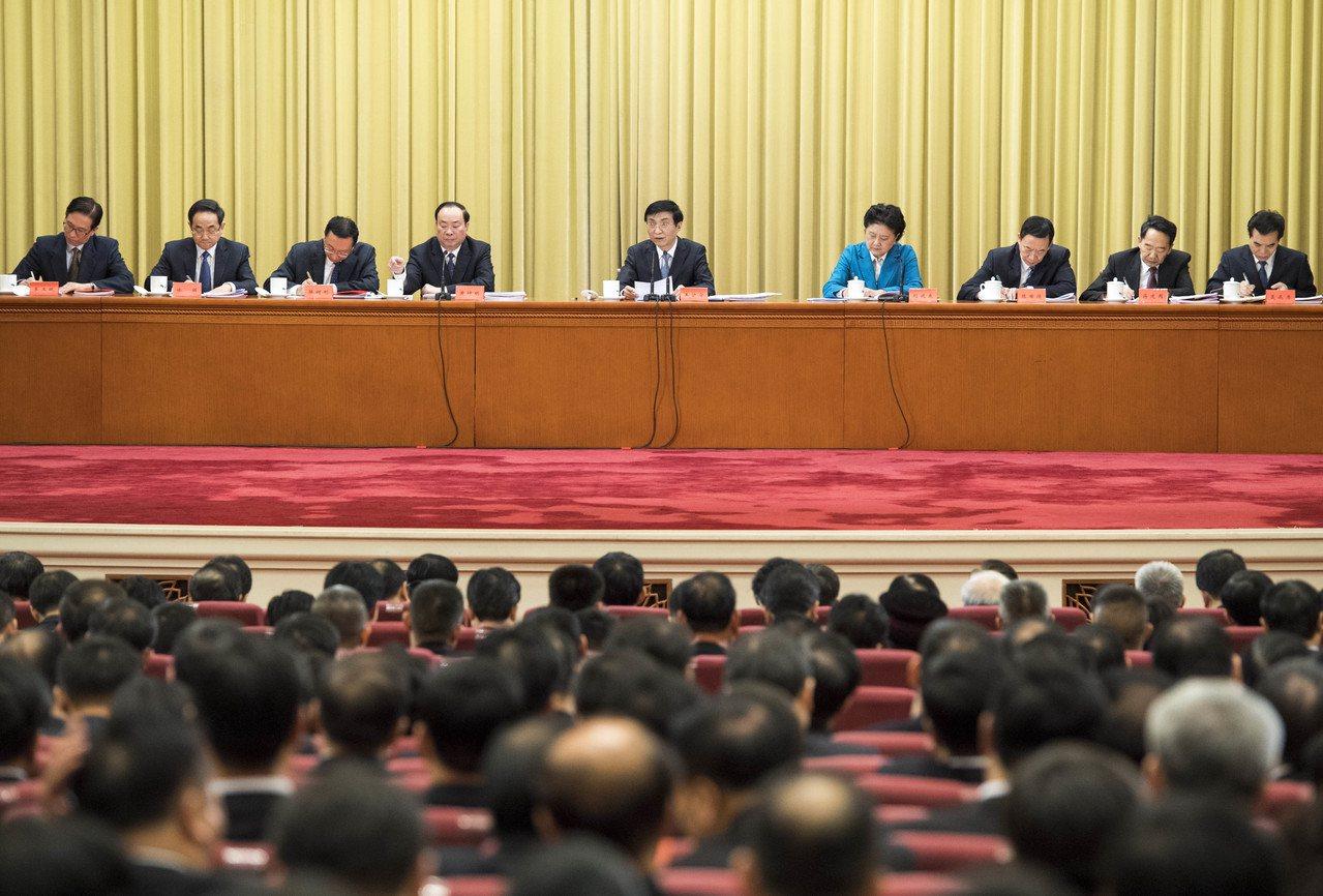 王滬寧首次以中共中央文明委主任亮相 新華社