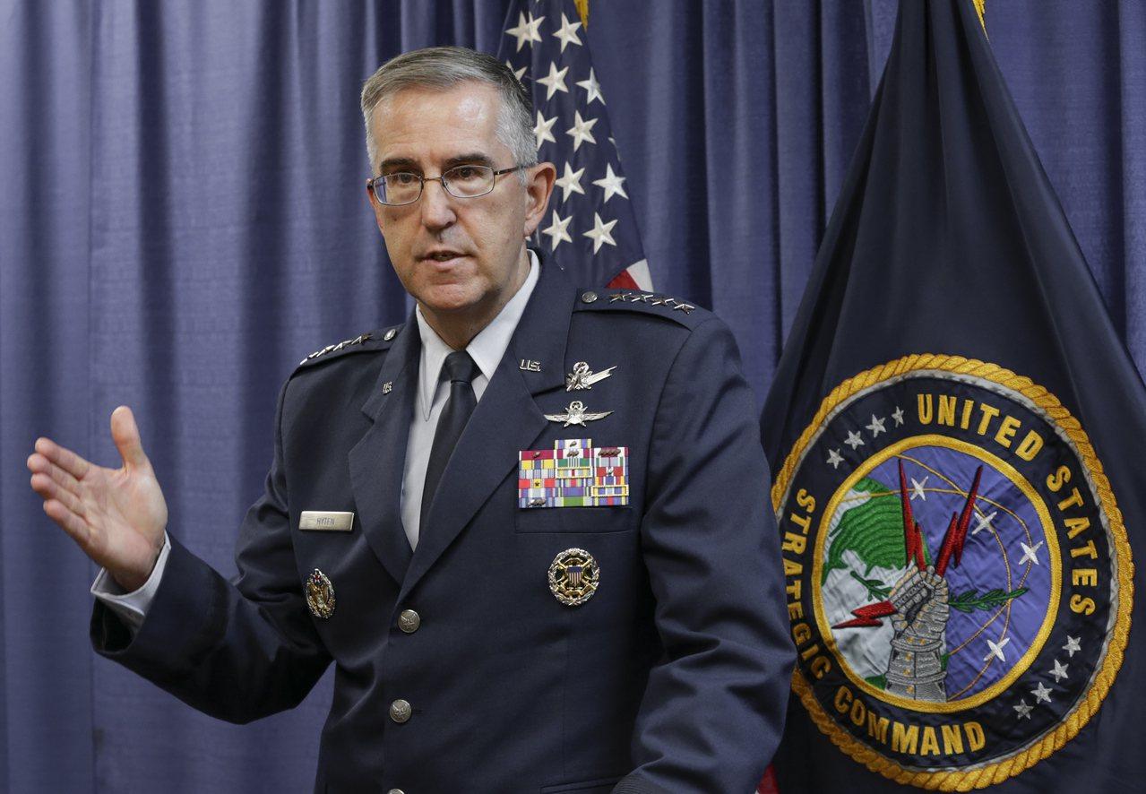 如果川普下令非法核攻擊,戰略中心指揮官稱將抗命。 美聯社