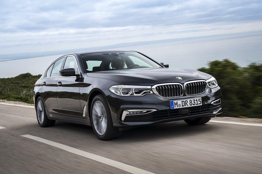 全新BMW 5系列。 圖/BMW提供
