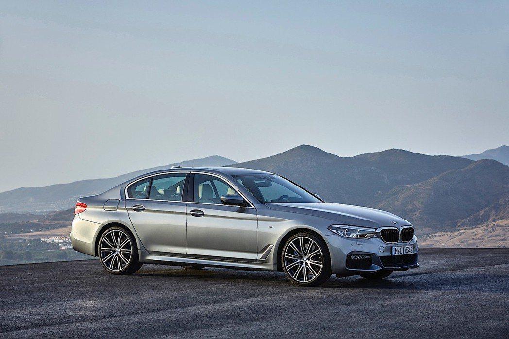 全新BMW 520d體驗科技之美專案隆重呈獻。 圖/BMW提供