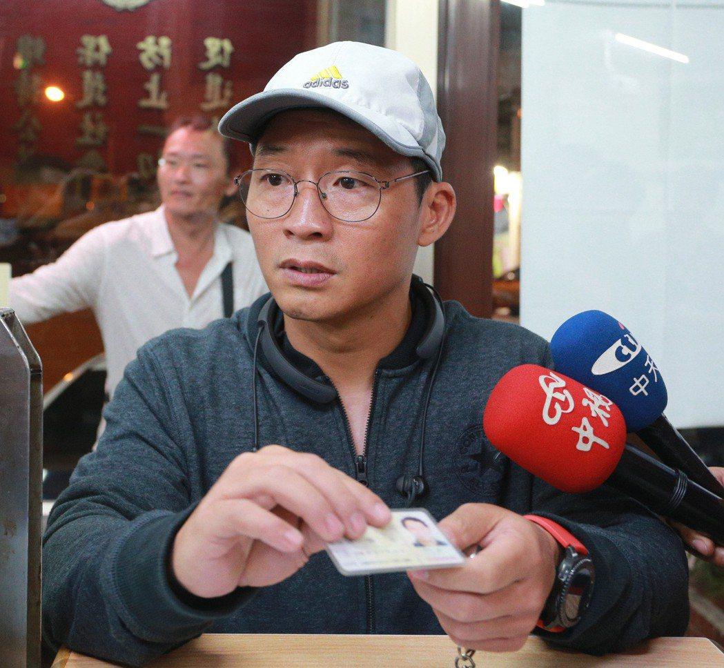 慶富副董陳偉志(見圖)自爆赴總統府,讓獵雷艦案更難善了。 本報資料照片