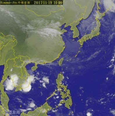 中央氣象局預報員劉宇其表示,22日晚間另一波東北季風將再南下。(photo by...