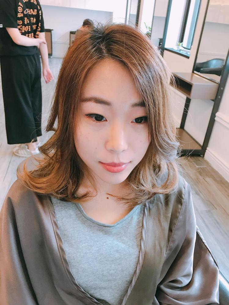 髮型創作/Angus 怡龍。圖/HairMap美髮地圖提供