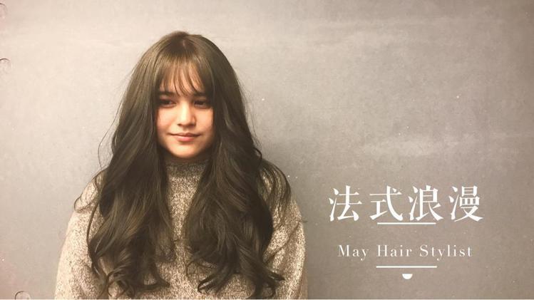 髮型創作/May Lee。圖/HairMap美髮地圖提供