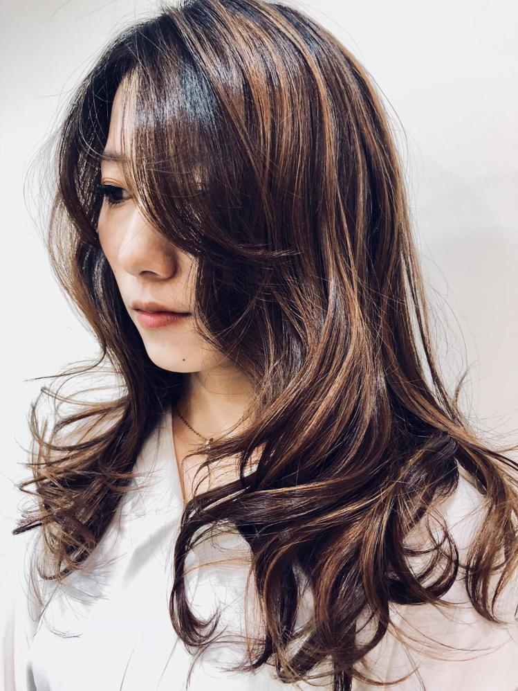 髮型創作/Jacky Chou。圖/HairMap美髮地圖提供