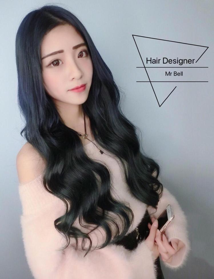 髮型創作/貝爾。圖/HairMap美髮地圖提供