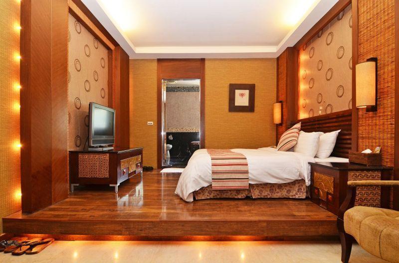 簡潔舒適的客房設計,有著雅緻精巧的房室氣息。(攝影/劉宸嘉)