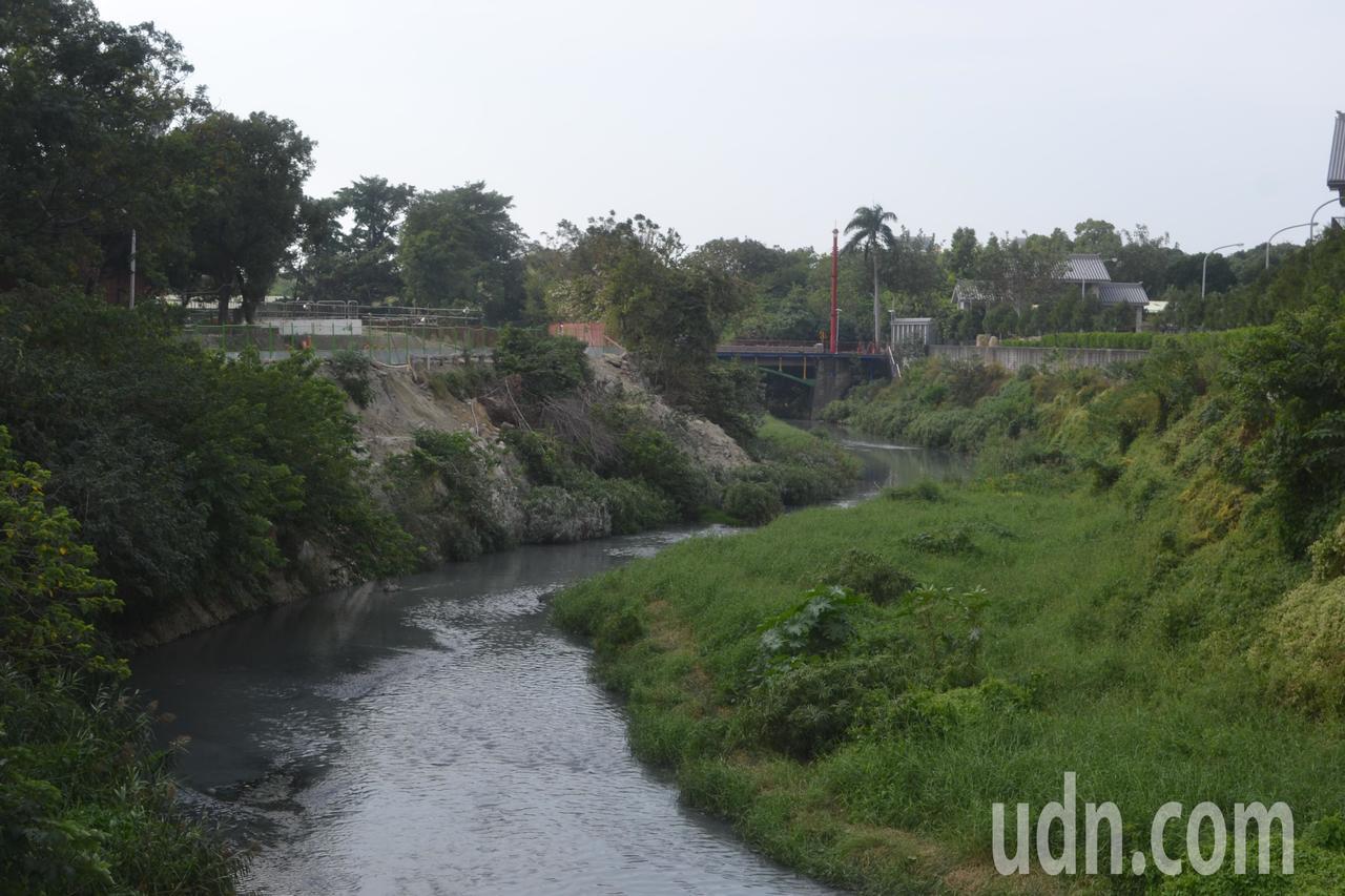 台南市竹溪從竹溪橋起將保持野溪的自然森林型態,成為都市叢林中的最佳棲地。記者鄭惠...