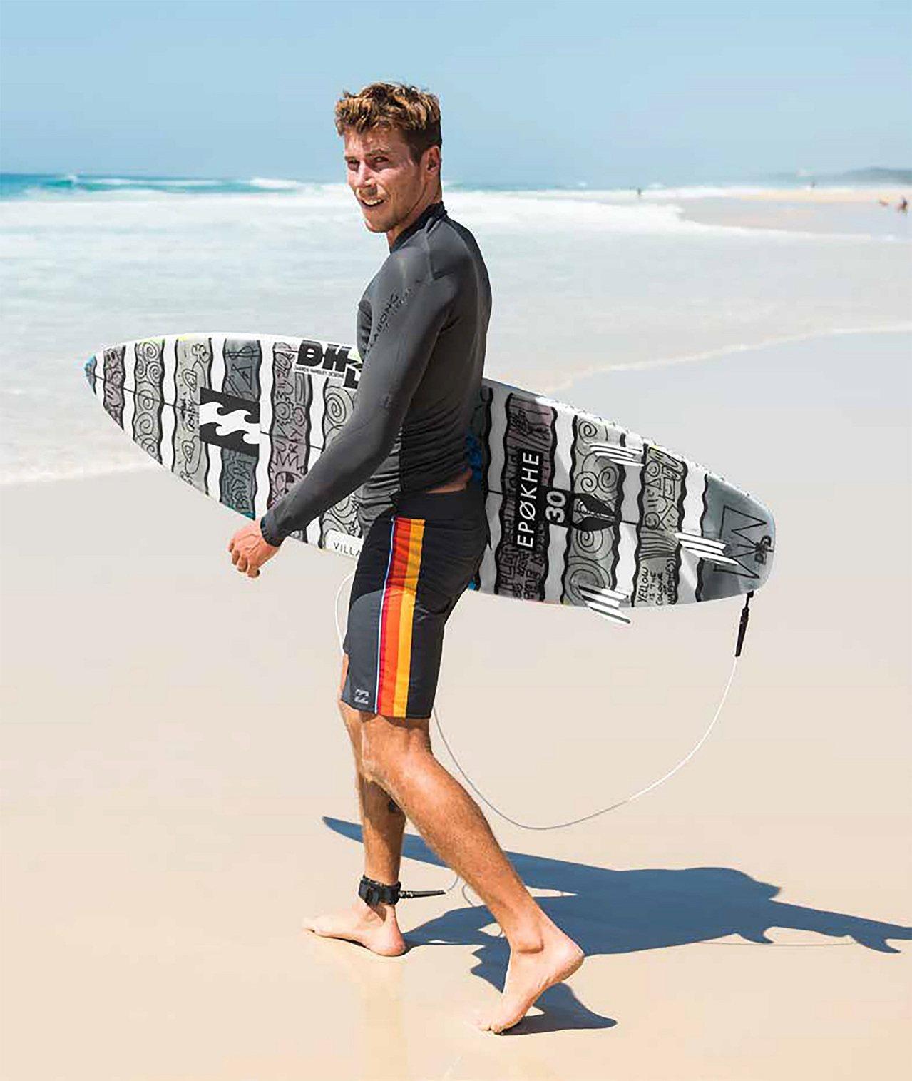 澳洲衝浪品牌BILLABONG進軍台灣市場,並推出冬季新款服飾。圖/摩曼頓提供