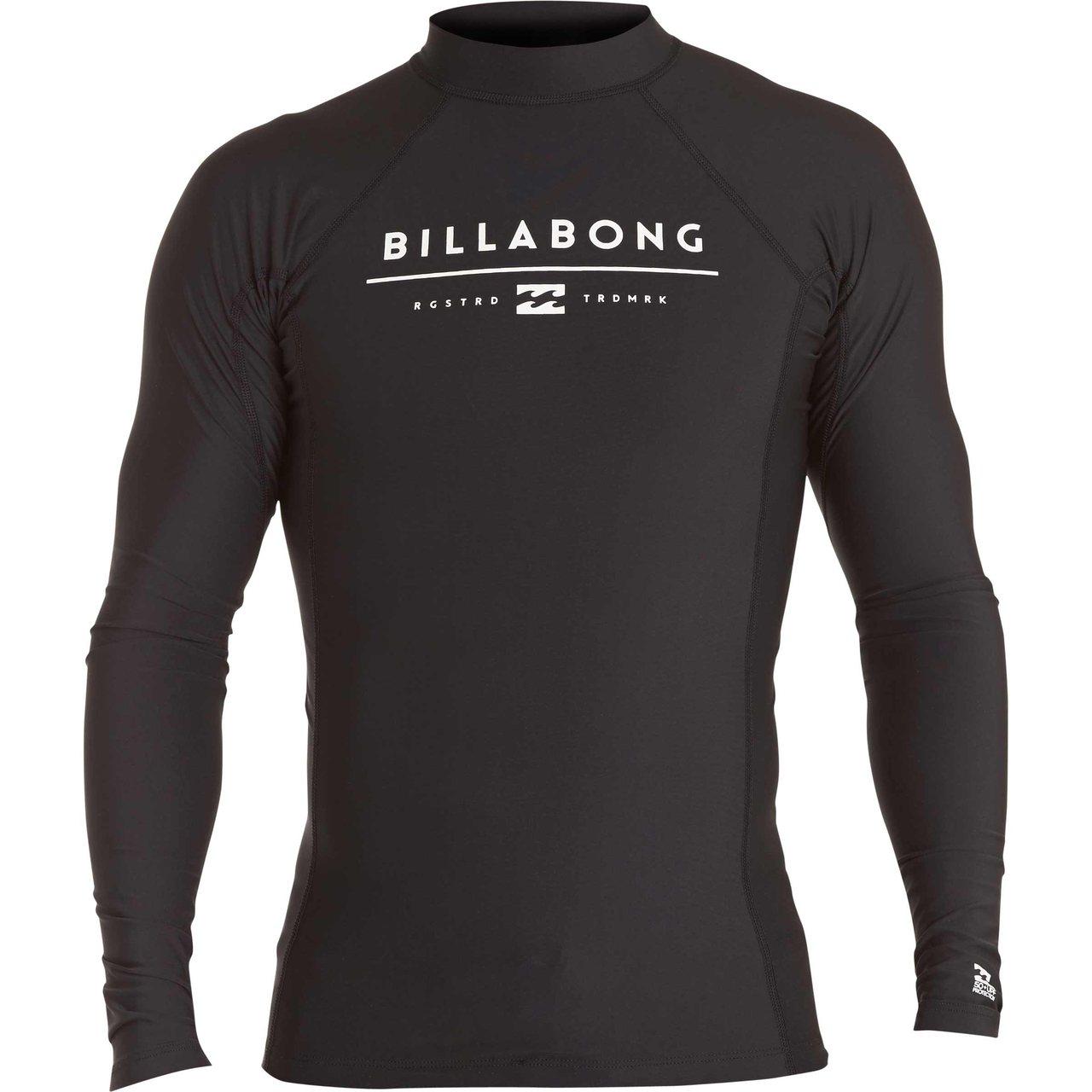 BILLABONG黑色長袖防磨衣,約2,390元。圖/摩曼頓提供