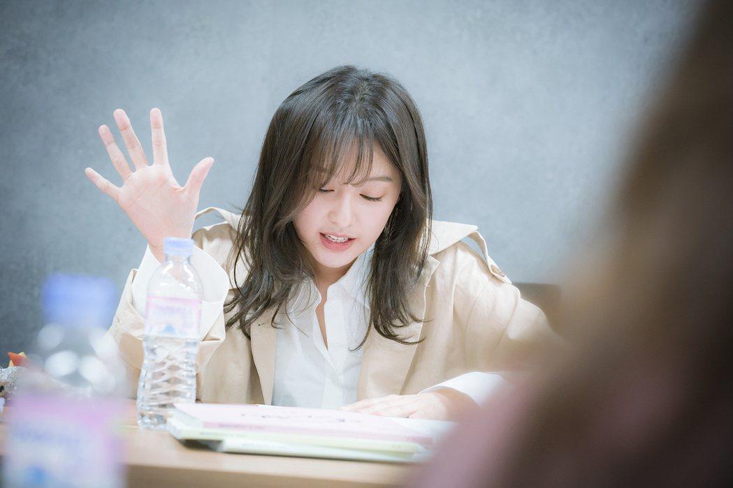 金智媛主演「三流之路」為撒嬌動作特別下功夫研究。圖/緯來戲劇台提供