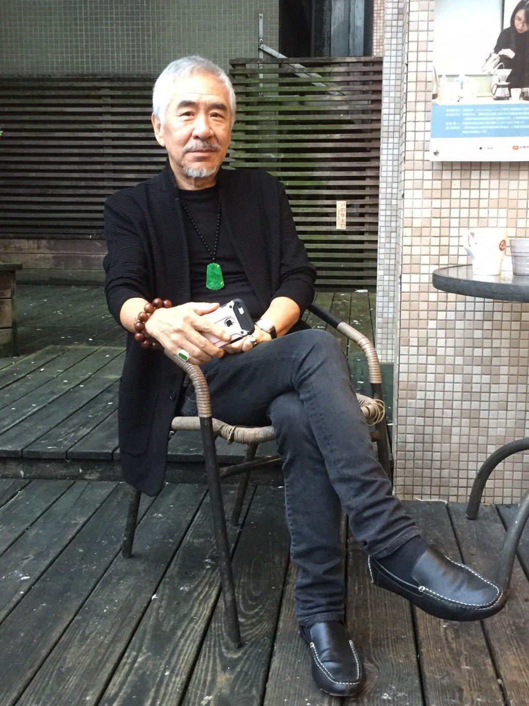 孫情做過成衣生意,外型仍保有獨特時尚品味。記者陳慧貞╱攝影