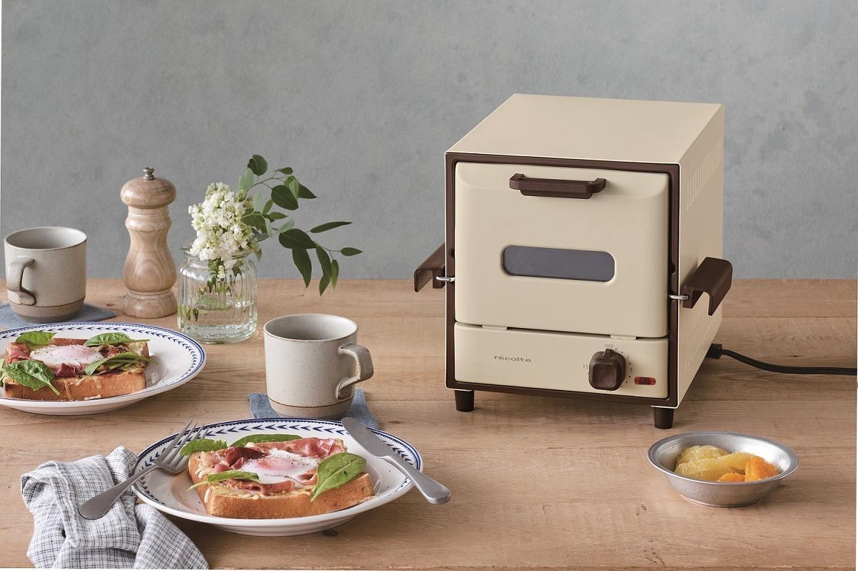 日本recolte Delicat電烤箱。圖/台隆手創館提供