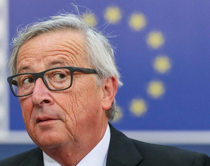 歐盟執委會主席容克。歐新社