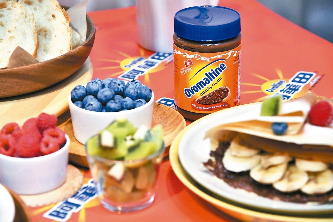 歐洲每五秒賣出一罐的「脆酷力抹醬」,今年秋冬在台上市,並自瑞士生產直送台灣。 阿...