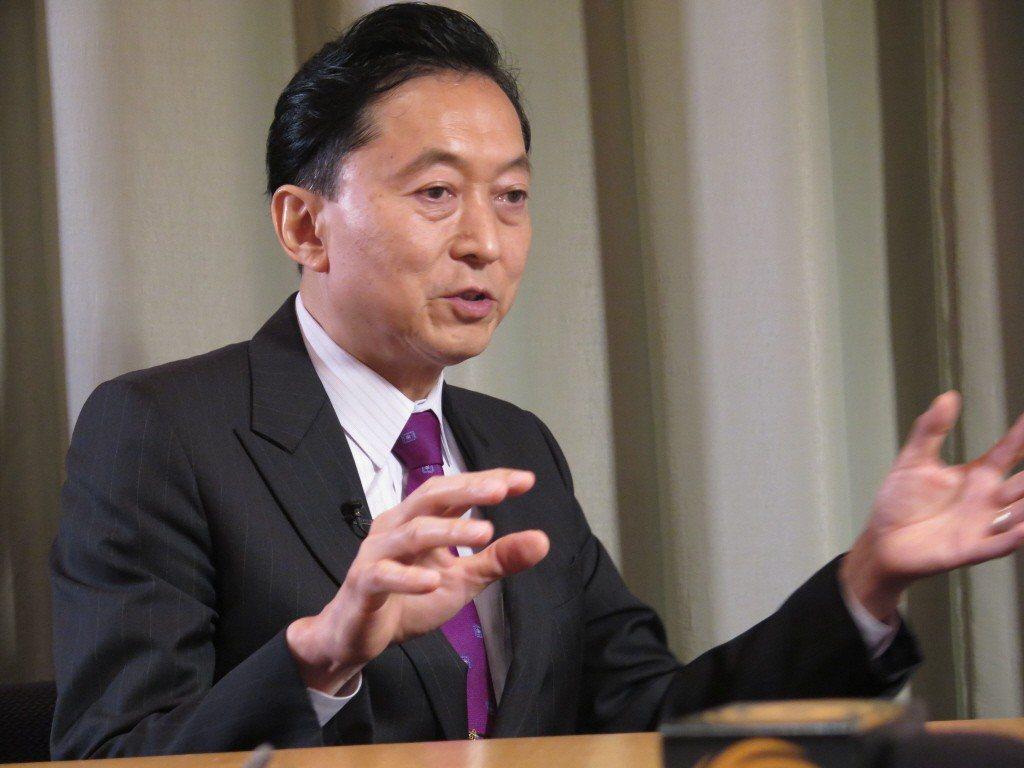 日本前首相鳩山由紀夫。中新社資料照片