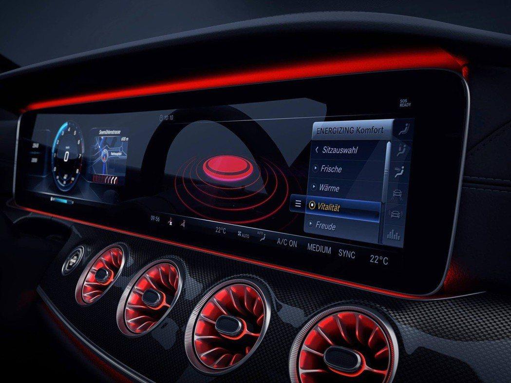 新CLS的儀表板將由單一獨立螢幕來整合所有影音系統與相關行車資訊 摘自 Mercedes-Benz
