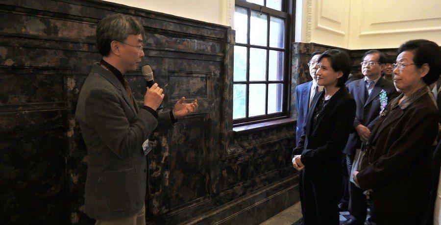 「國立台灣博物館本官」20日在文化部部長鄭麗君以及多位貴賓的見證下,宣佈21日重...