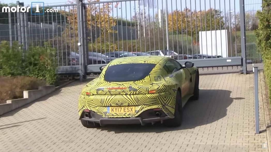 Aston Martin全新Vantage將於英國當地11月21日亮相。 圖片來源:Motor1.com