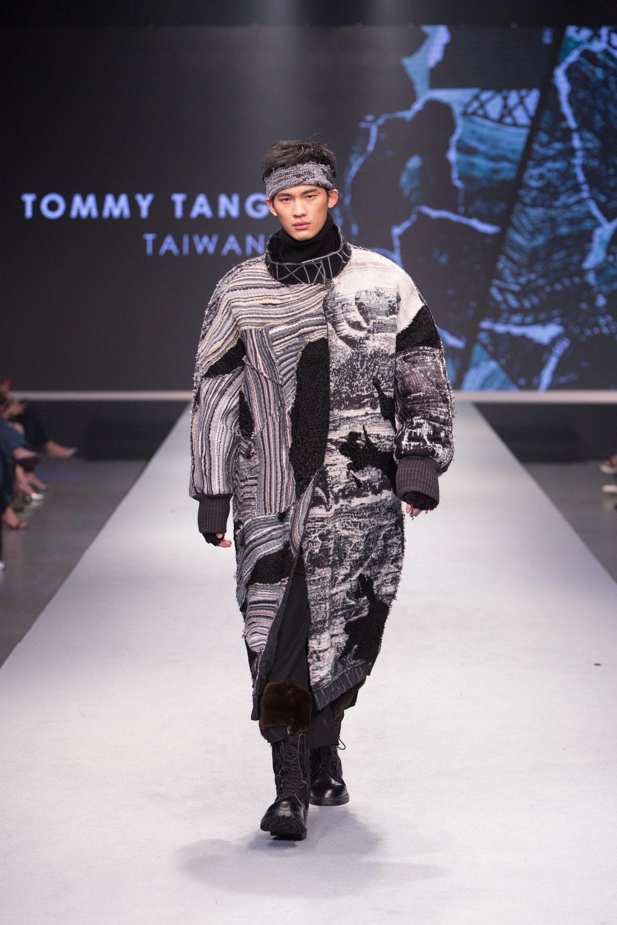 湯俊翔作品獲得「男裝組最佳設計獎」。圖/紡拓會提供