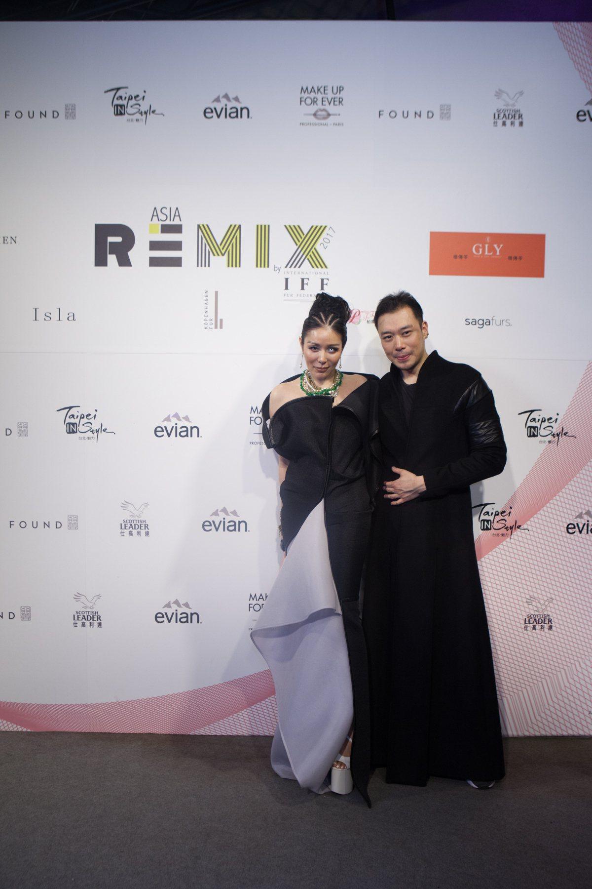 時尚攝影師陳星伊與服裝設計師陳科維。圖/紡拓會提供