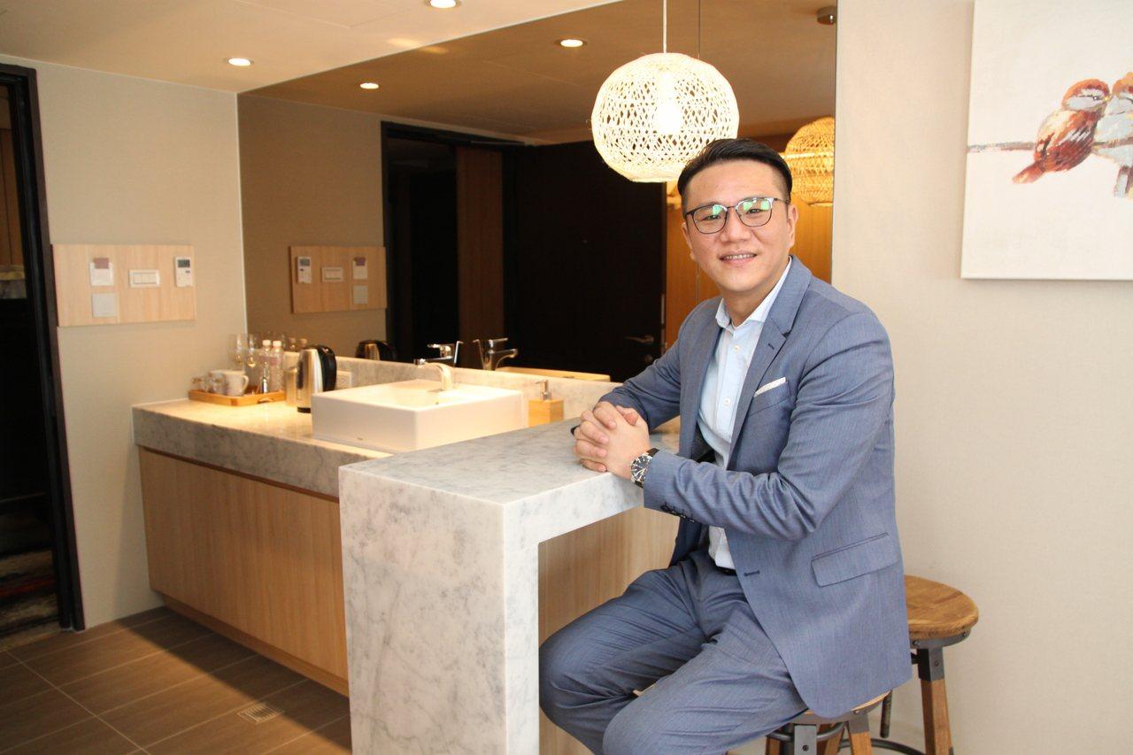只要3980元,馬上就可以入住台中市6特色飯店的VIP套房,同時有專業管家,圖為...