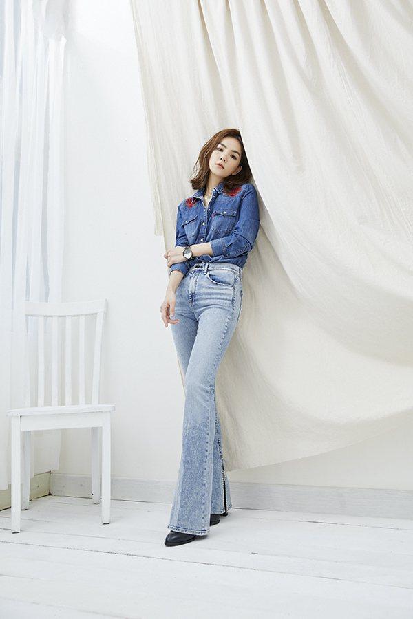 Ella接受時尚雜誌專訪,大聊媽媽經。圖/MILK提供