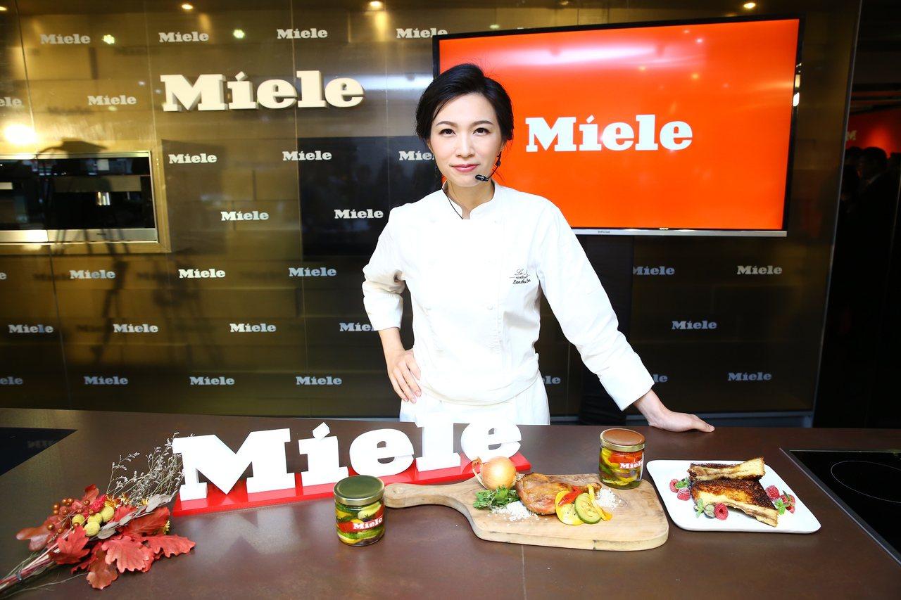 Miele首位台灣區代言人,亞洲最佳女主廚陳嵐舒。圖/Miele提供