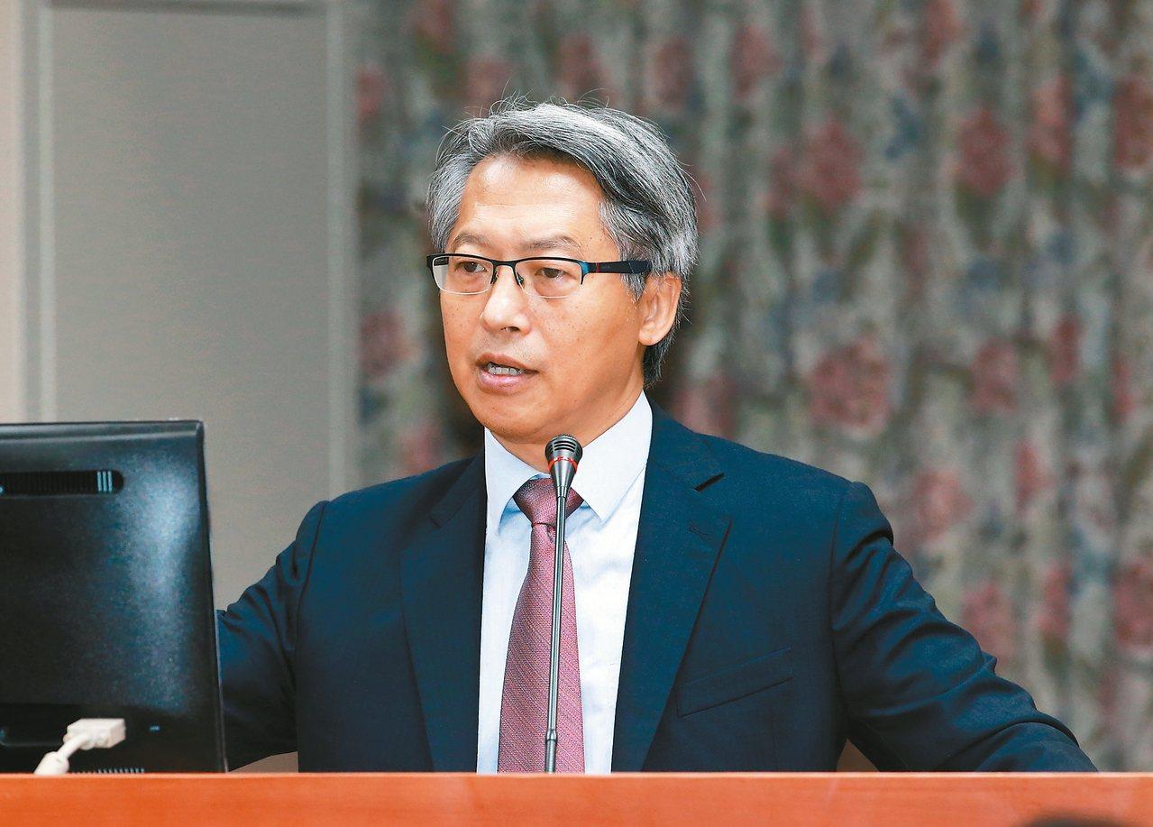 中研院院長廖俊智昨天在立院表示,會為台大選出最好的校長。 記者黃義書/攝影