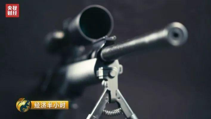 國際狙擊大賽中,中國選手使用國產7.62毫米口徑狙擊步槍參賽,由於槍精度不夠,第...