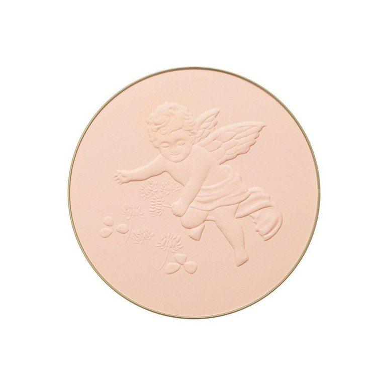 米蘭絕色蜜粉餅(2018限量珍藏版)粉蕊刻有年度主題「優雅天使」浮雕。圖/佳麗寶...
