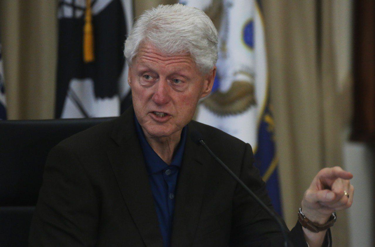 前美國總統比爾.柯林頓陷入性騷擾的指控。歐新社