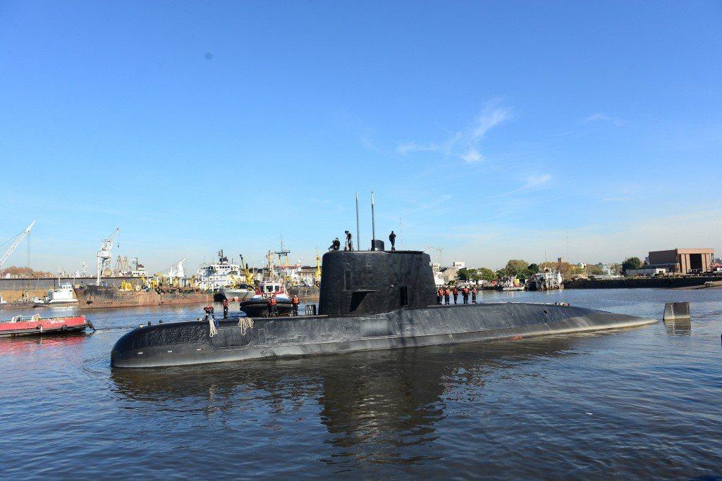 阿根廷潛艦仍失聯 首位女軍官生死未卜