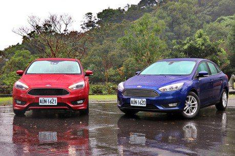 歐系智能轎跑Ford Focus 樹立國產房車新標竿