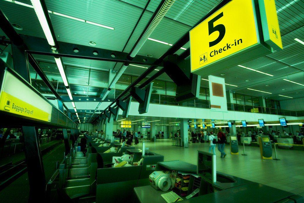 機場示意圖。圖片來源/ingimage