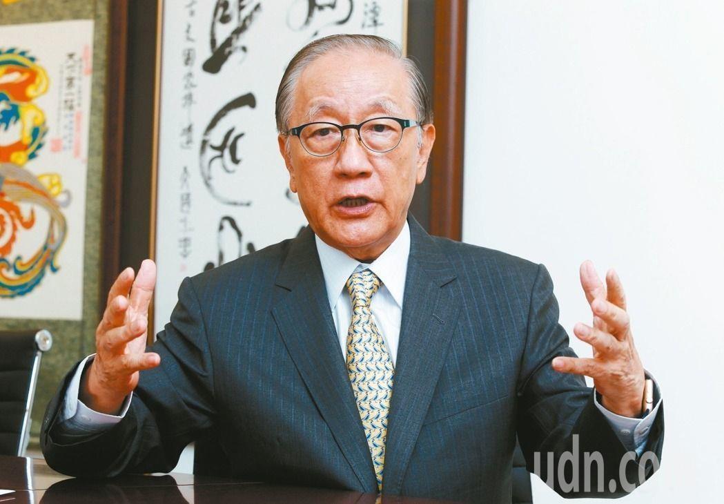 新黨黨主席郁慕明。圖/聯合報系資料照片