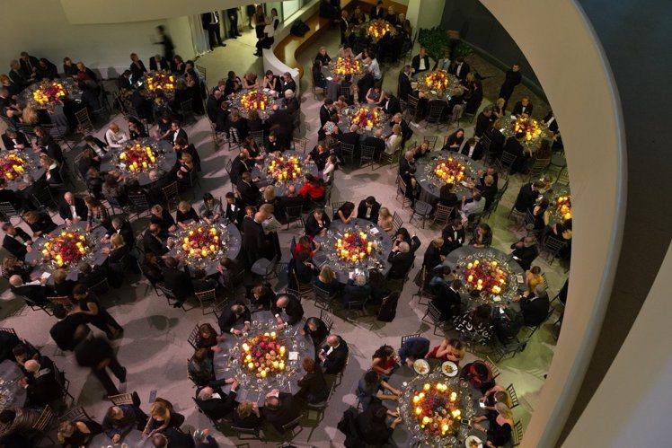 Dior贊助2017古根漢美術館國際藝術節晚宴現場。圖/Dior提供
