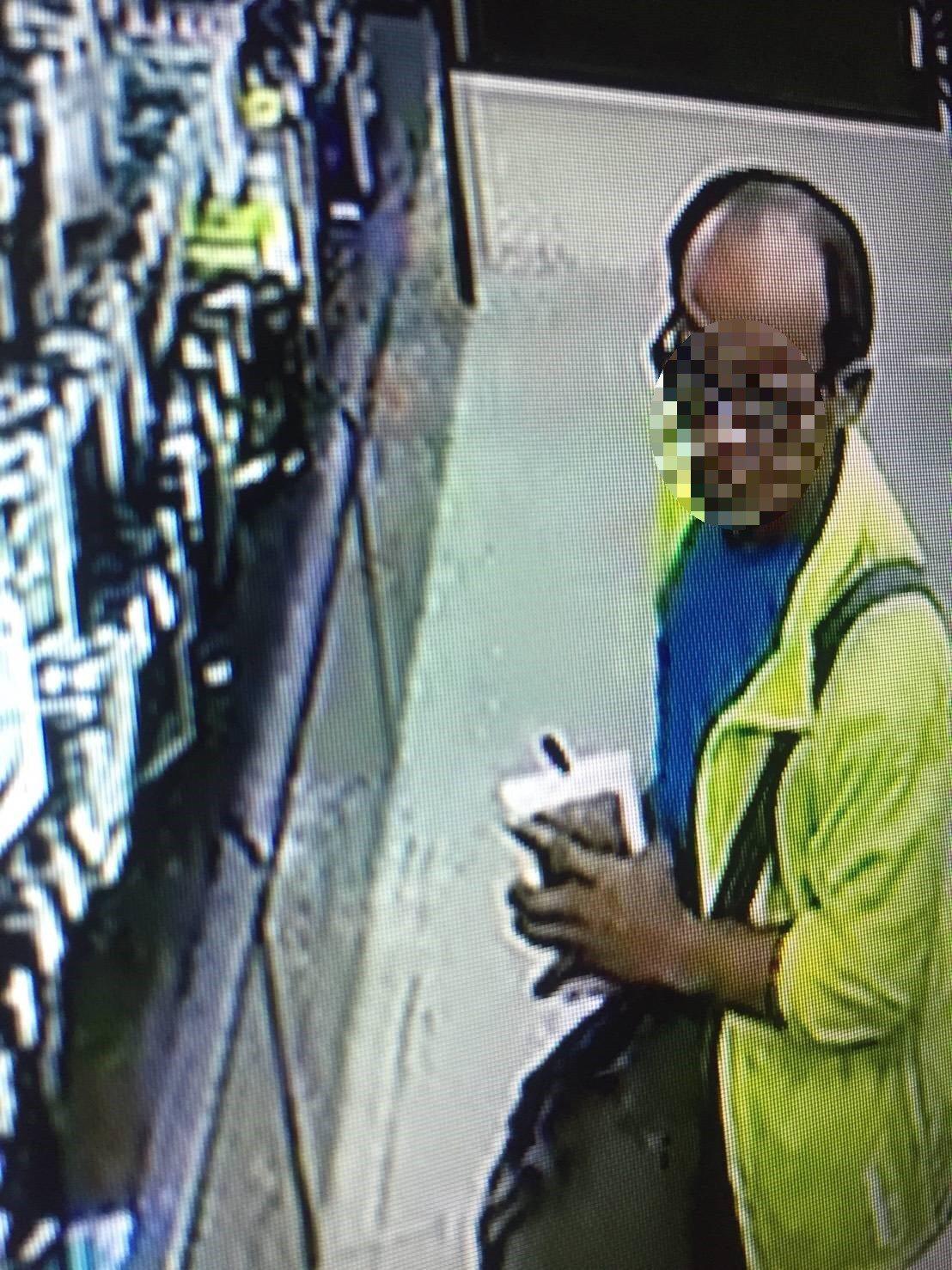 許姓男子日前在中西區連鎖大賣場涉行竊,也因禿頭特徵太好認,經警方比對畫面,他也只...