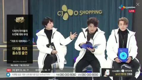 韓團Super Junior日前回歸,向歌迷承諾如果專輯賣破20萬張,就要配合主打歌「Black Suit」,上電視購物台賣西裝。他們20日晚間實踐承諾,集體到購物台報到,賣起羽絨大衣。不到一個小時...