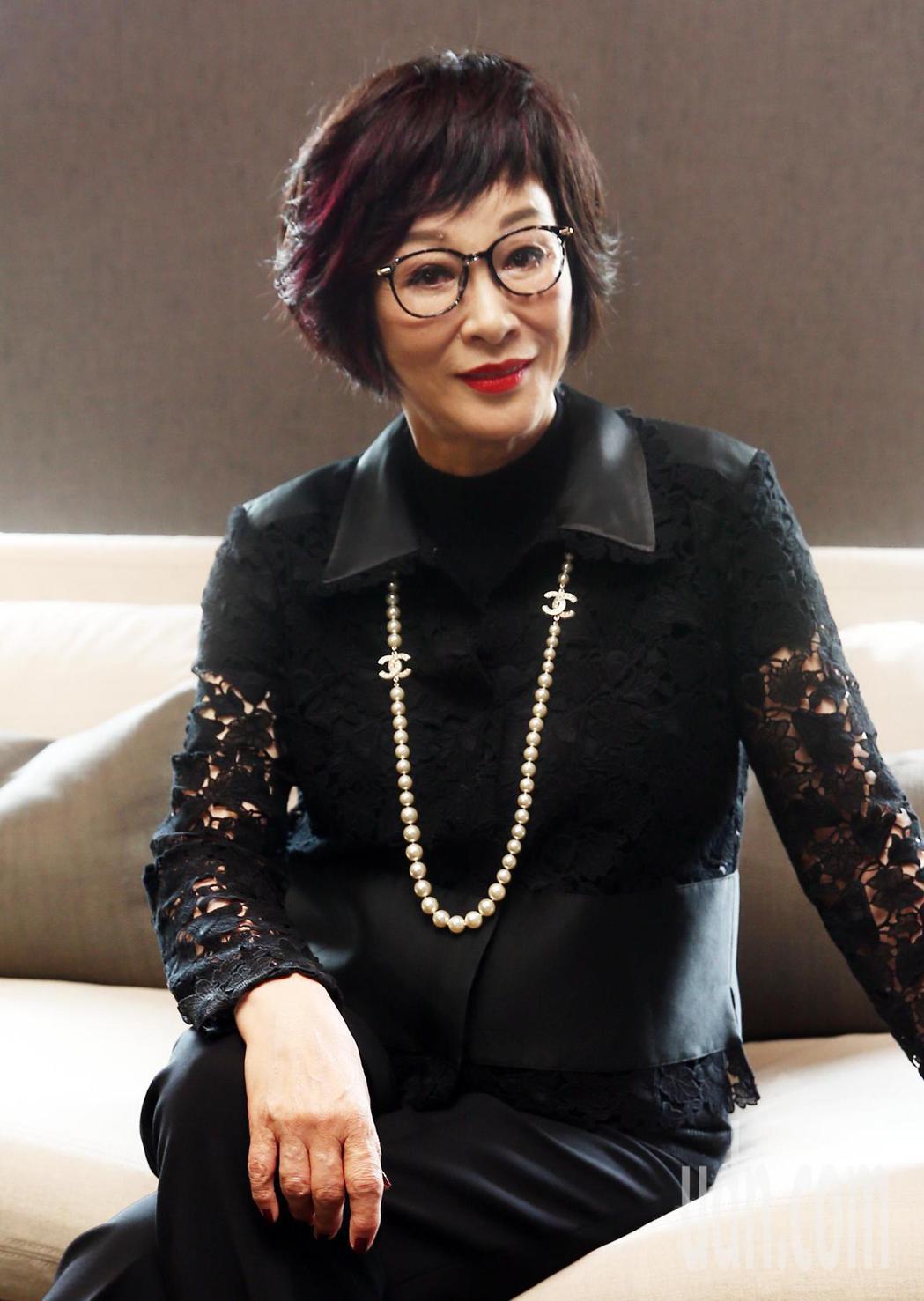 第54屆金馬獎將於11/25舉行,本屆終身成就獎得主「俠女」徐楓,下午與媒體見面...