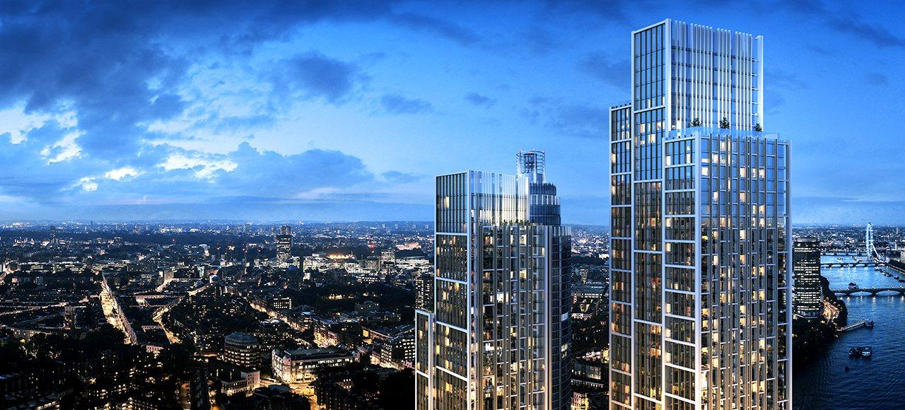 位於英國倫敦的萬達文華酒店,先前預告將於明年9月30日開幕。擷取自萬達酒店官網