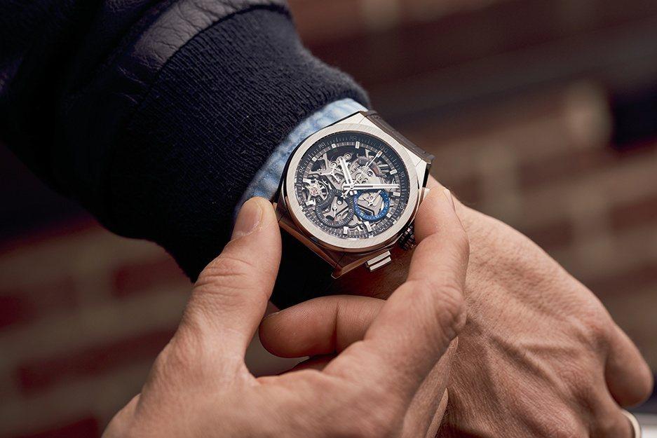 真力時DEFY系列El Primero 21計時碼表,可說是目前市場上最精準的腕...