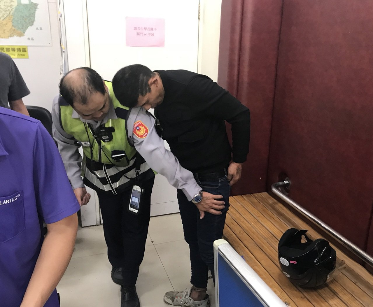 台中市蘇姓男子今天騎機車四處搶奪,至少已犯下4起搶案。記者陳宏睿/攝影