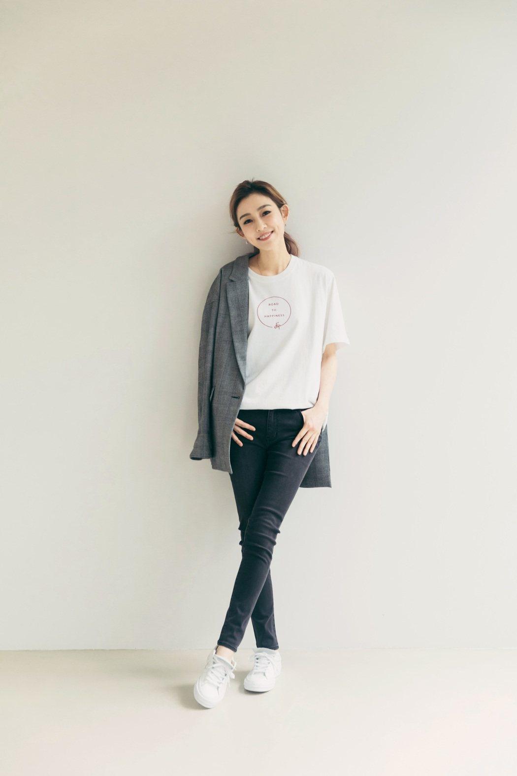 范瑋琪為新戲「我的男孩」獻唱片頭曲「溫柔的奇蹟」。圖/福茂唱片提供